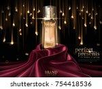 luxury skin toner ads  premium... | Shutterstock .eps vector #754418536
