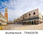 Piazza San Marco With Campanil...
