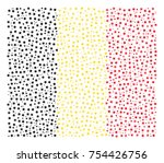abstract flag of belgium made... | Shutterstock .eps vector #754426756