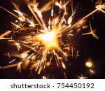 the bright sparks of the bengal ... | Shutterstock . vector #754450192