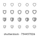 simple collection of shield...