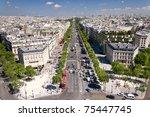 View On Paris From Arc De...