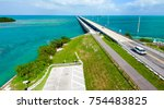 bahia honda state park  old and ... | Shutterstock . vector #754483825