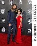 jason momoa and lisa bonet at... | Shutterstock . vector #754537126