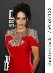 lisa bonet at the world... | Shutterstock . vector #754537132