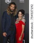 jason momoa and lisa bonet at... | Shutterstock . vector #754537192