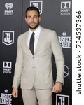 zachary levi at the world... | Shutterstock . vector #754537366