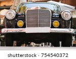 close up of the front part of... | Shutterstock . vector #754540372