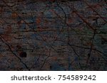 abstract multicolor grunge... | Shutterstock . vector #754589242
