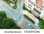 digital transformation trends... | Shutterstock . vector #754599298