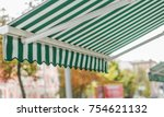 awning on window | Shutterstock . vector #754621132