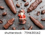 delicious festive christmas... | Shutterstock . vector #754630162