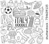 italy italian traditional...   Shutterstock .eps vector #754639135