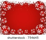 winter background   vector | Shutterstock .eps vector #754645