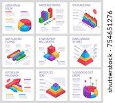 isometric diagrams infographics ...   Shutterstock .eps vector #754651276