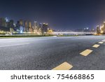 panoramic skyline and buildings ...   Shutterstock . vector #754668865