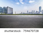 panoramic skyline and buildings ...   Shutterstock . vector #754670728