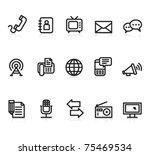 communication black and white...