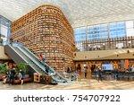 seoul  south korea   october 14 ...   Shutterstock . vector #754707922