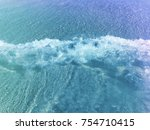 blue wave sea | Shutterstock . vector #754710415