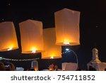 Floating Lantern Festival In...
