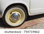 leon  spain   april 27  2014 ... | Shutterstock . vector #754719862