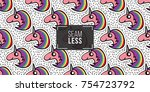 seamless pattern background... | Shutterstock .eps vector #754723792