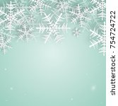 christmas and new years...   Shutterstock .eps vector #754724722