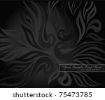 vector abstract background with ... | Shutterstock .eps vector #75473785