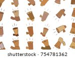 abstract illustrations of loud...   Shutterstock .eps vector #754781362