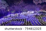 light illumination in a... | Shutterstock . vector #754812325
