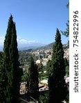 taormina  sicily  italy | Shutterstock . vector #754822996