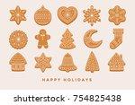 Big Set Christmas Gingerbread ...