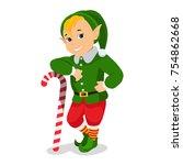 vector illustration of cartoon... | Shutterstock .eps vector #754862668