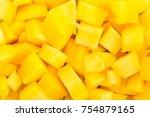 Mango Chunks Texture