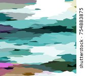 camouflage background with... | Shutterstock . vector #754883875