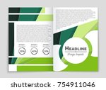 abstract vector layout... | Shutterstock .eps vector #754911046