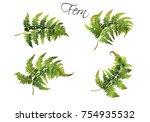 vector realistic illustration... | Shutterstock .eps vector #754935532