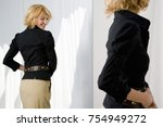 woman shopping | Shutterstock . vector #754949272
