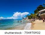 puerto vallarta  mexico  ... | Shutterstock . vector #754970932