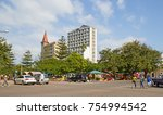 maputo  mozambique   april 29 ... | Shutterstock . vector #754994542