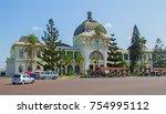 maputo  mozambique   april 29 ... | Shutterstock . vector #754995112