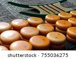 Gouda Cheese On Market In...