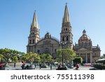 guadalajara  jalisco  mexico  ...   Shutterstock . vector #755111398