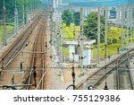 Railroad Tracks In Guangzhou O...