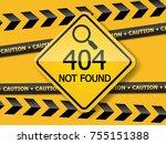 Illustration Of 404 Error Page...