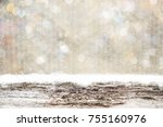 christmas holiday background... | Shutterstock . vector #755160976