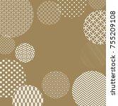 japanese pattern background... | Shutterstock .eps vector #755209108