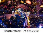 saint petersburg  russia  ... | Shutterstock . vector #755212912
