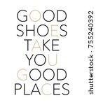 shiny slogan graphic | Shutterstock . vector #755240392